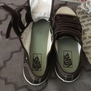 c8ddfe03c8 Vans Shoes - Vintage Prison Issue 23 Velcro Vans